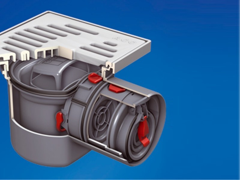 Component for sewer network ACO Junior® by ACO PASSAVANT