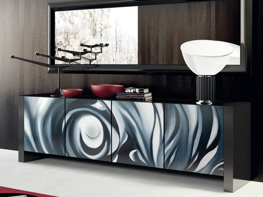 Sideboard with doors SOUL | Contemporary style sideboard by Formenti