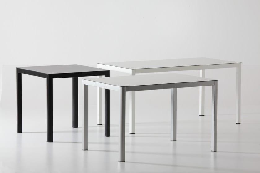 Rectangular table LA | Rectangular table by arrmet