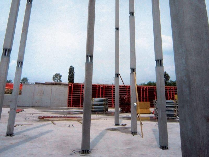 Pilastro a sezione ultrasnella Pilastro PTC® NPS® 25 x 25 cm by Tecnostrutture