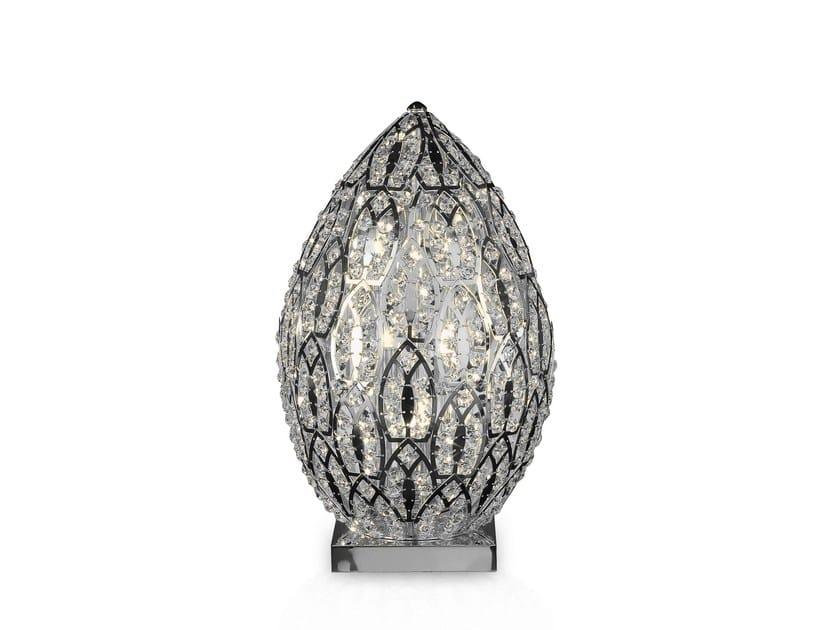 Vgnewtrend Da In Cristallo EggLampada Tavolo Arabesque fgyb76Y