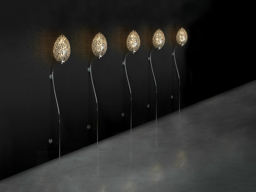 Crystal wall lamp / floor lamp ARABESQUE ICONICO EGG by VGnewtrend