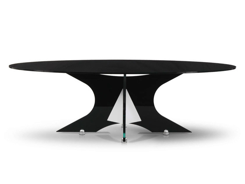 Oval table PIPER by Formenti
