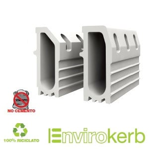 Drainage channel and part EnviroKerb by GRIDIRON GRIGLIATI