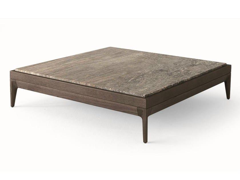 Tavolini Da Salotto In Legno Massiccio : Tavolino quadrato in legno massello da salotto antibes tavolino