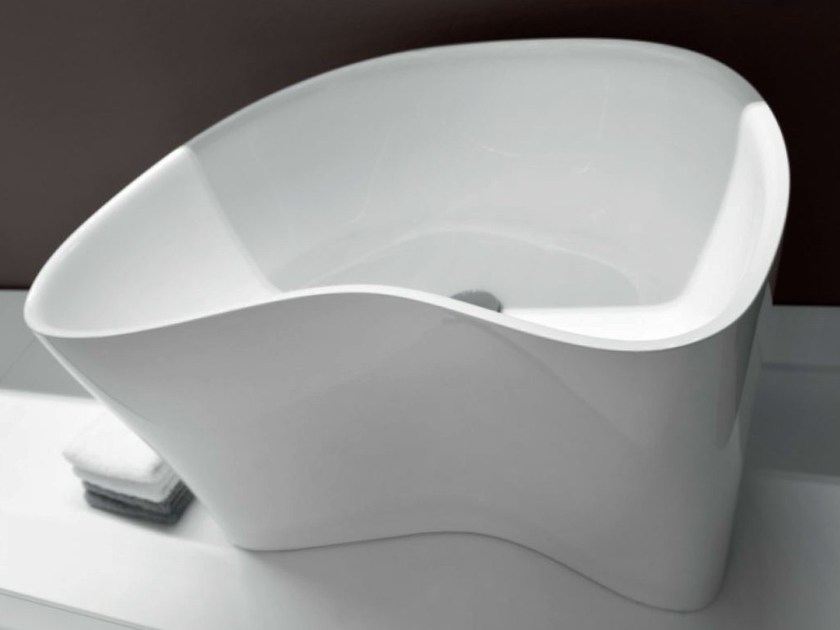 Countertop Ceramilux® washbasin LEVEL 45 | Washbasin by FALPER