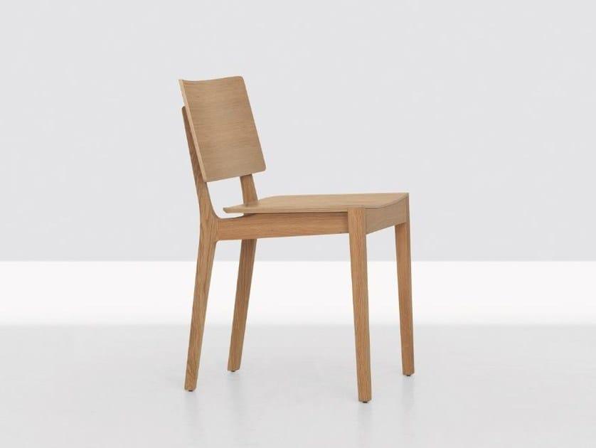 Wooden chair FINN by ZEITRAUM