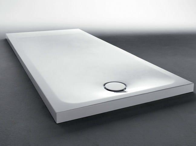 Rectangular Ceramilux® shower tray H5   Ceramilux® shower tray by FALPER
