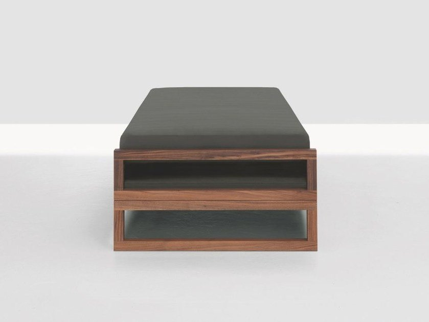 Convertible wooden bed GUEST by ZEITRAUM