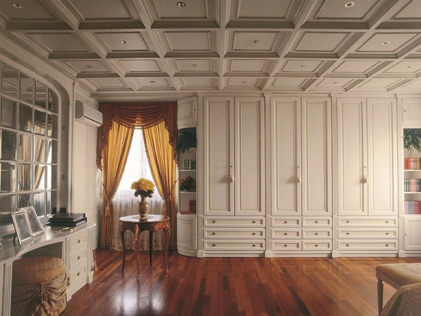 Classic style wardrobe with drawers OXFORD | Wardrobe by Turati & C.