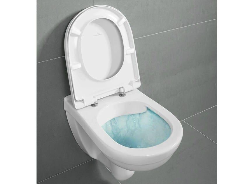 Rimless ceramic toilet O.NOVO | Wc DirectFlush by Villeroy & Boch
