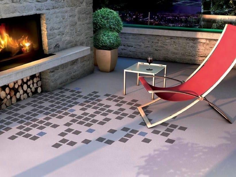 Outdoor resin continuous flooring Triflex Creative Design by Triflex Italia