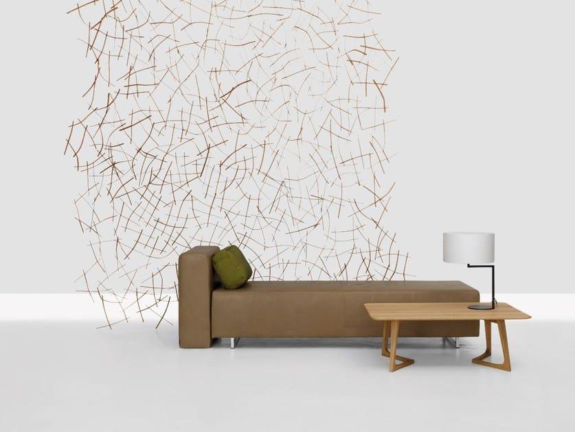 Wooden room divider STRUKTUR by ZEITRAUM
