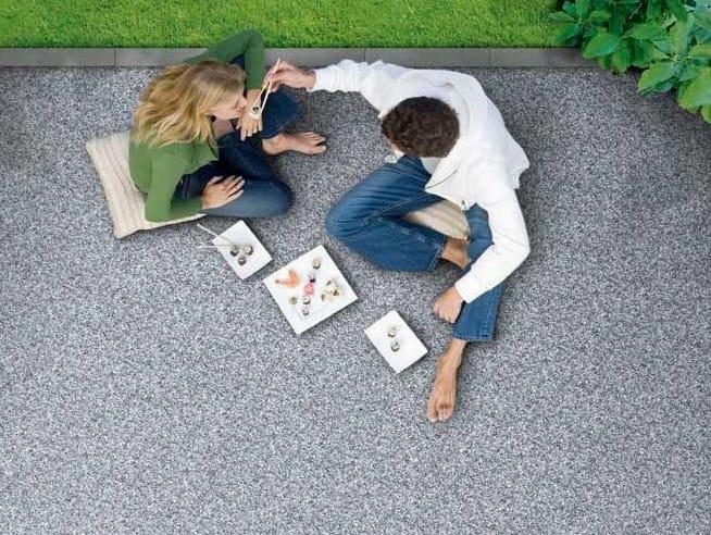Carrelage De Sol Extérieur En Galets Triflex Stone Design By
