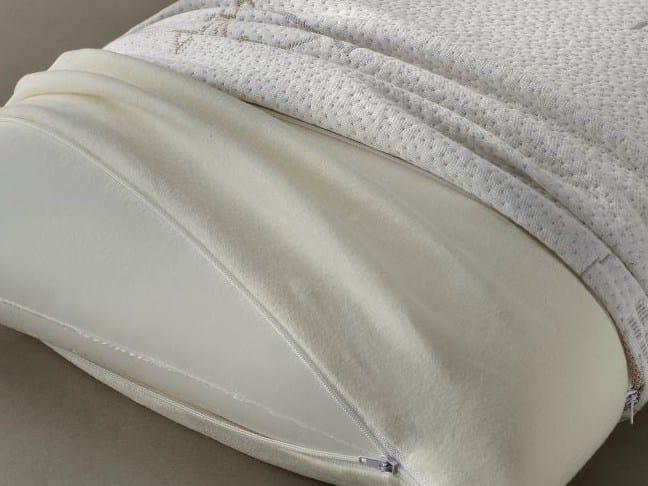 Rectangular memory foam pillow MICHAEL SAPONETTA by Demaflex