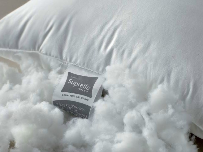 Rectangular synthetic fibre pillow SUPRELLE® by Demaflex