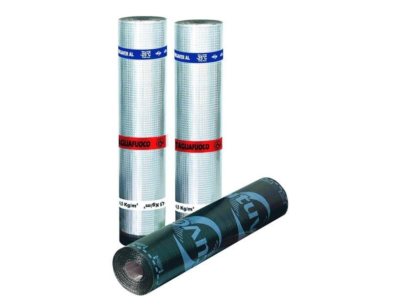 Membrane impermeabilizzanti per coperture MEGAVER AL TF by BITUVER