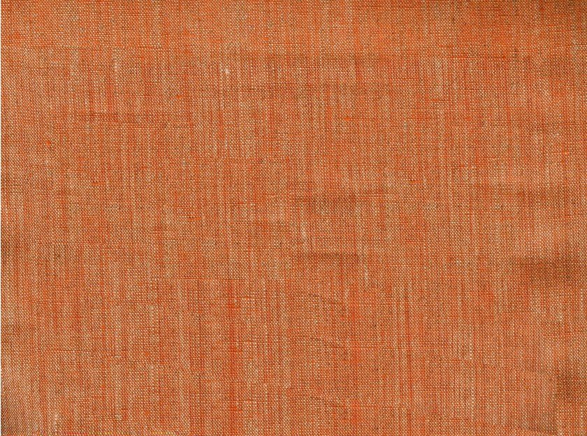 Solid-color linen fabric FALAISE by KOHRO