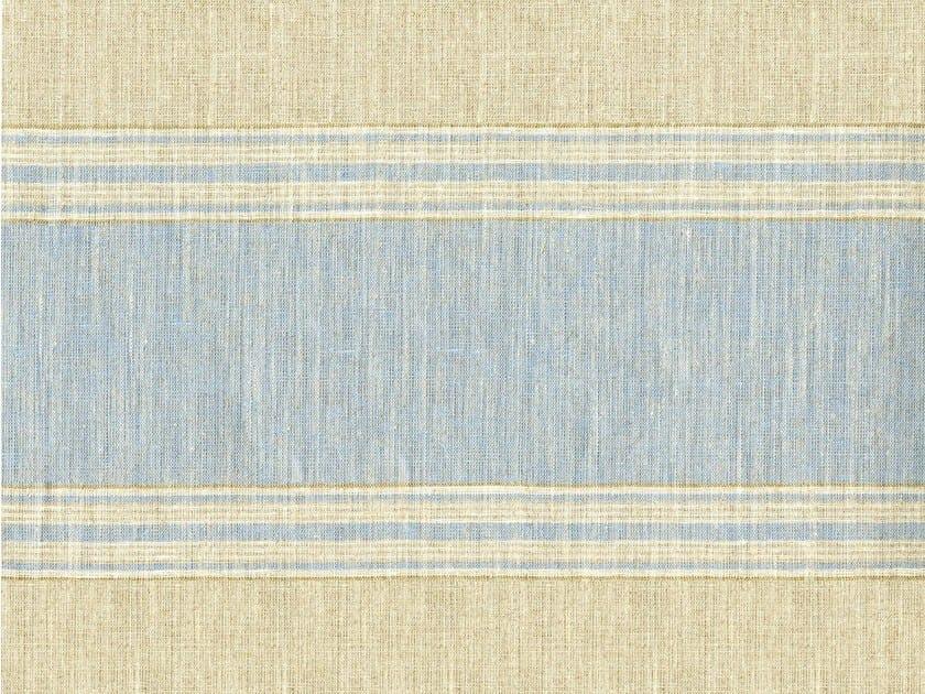 Striped linen fabric ANTIBES by KOHRO