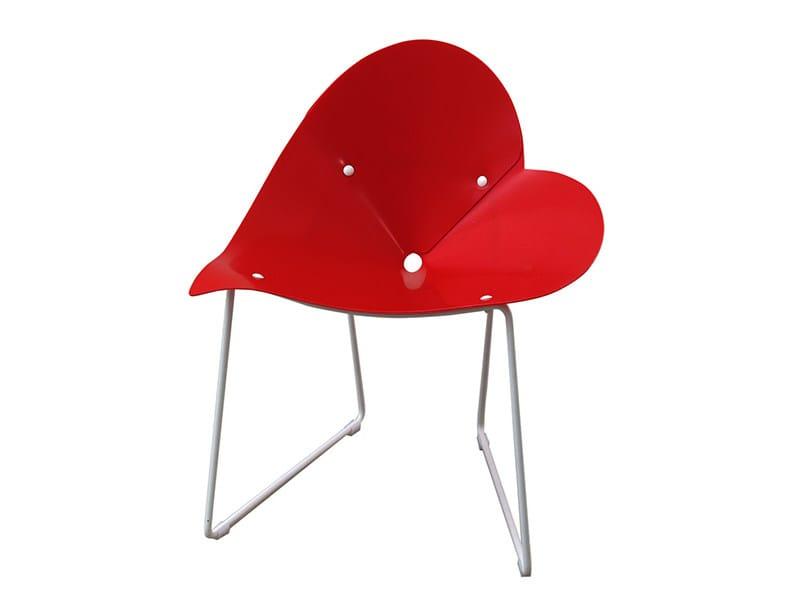 Sled base chair PLISPLAS | Chair by calma
