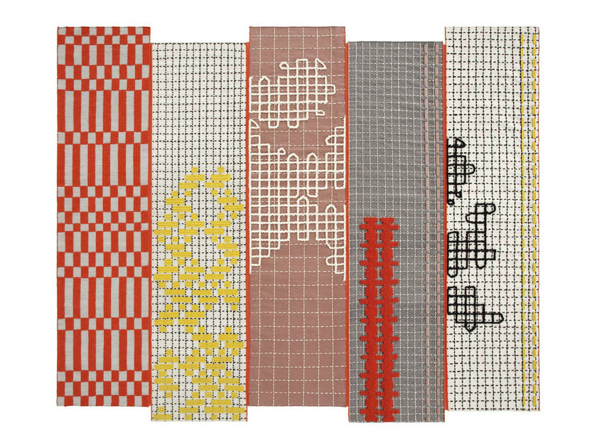 Handmade rug BANDAS | Rug by GAN