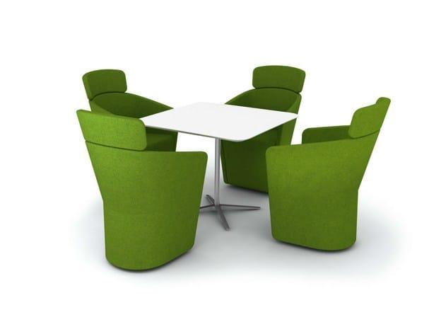 PARCS - CLUB TABLE   Square table
