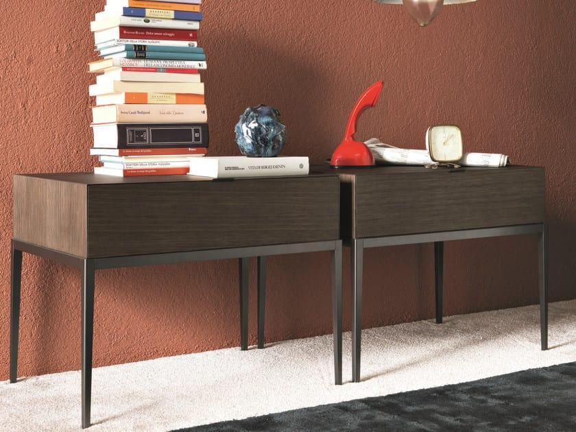 Oak coffee table / bedside table KESSLER | Bedside table with drawers by MisuraEmme