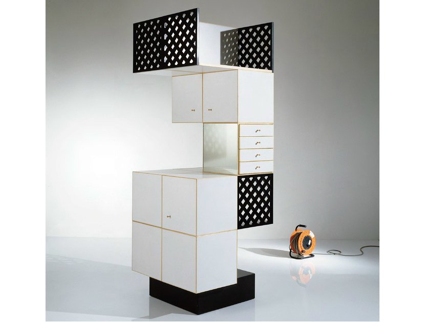 Storage unit with doors with drawers Storage unit by OAK