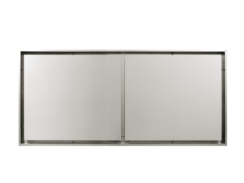 Ceiling-mounted built-in stainless steel cooker hood 855 MAXI PURE'LINE by NOVY
