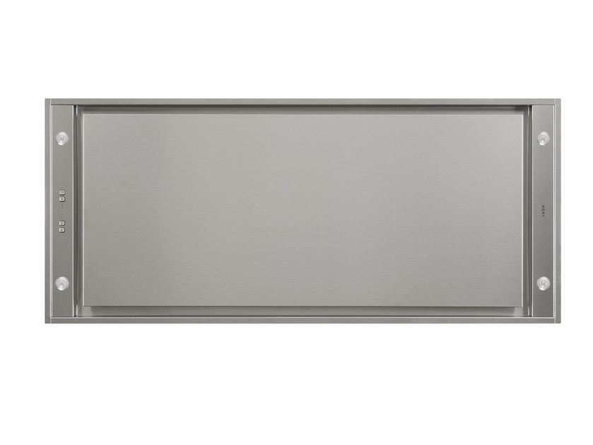 Ceiling-mounted built-in cooker hood with integrated lighting 6845 PURE'LINE by NOVY