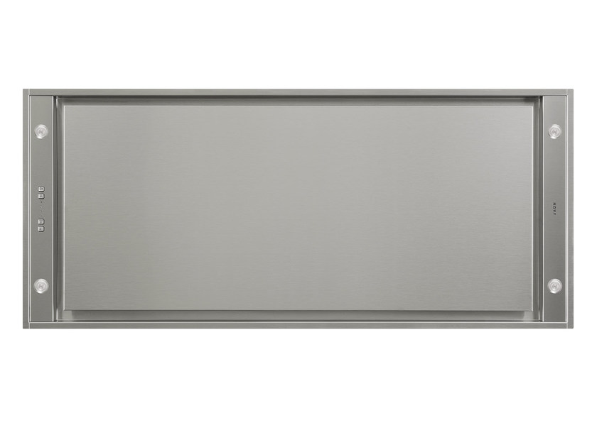 Ceiling-mounted built-in cooker hood with integrated lighting 6840 PURE'LINE by NOVY