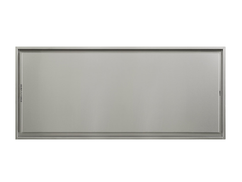 Ceiling-mounted built-in stainless steel cooker hood 6843 PURE'LINE by NOVY