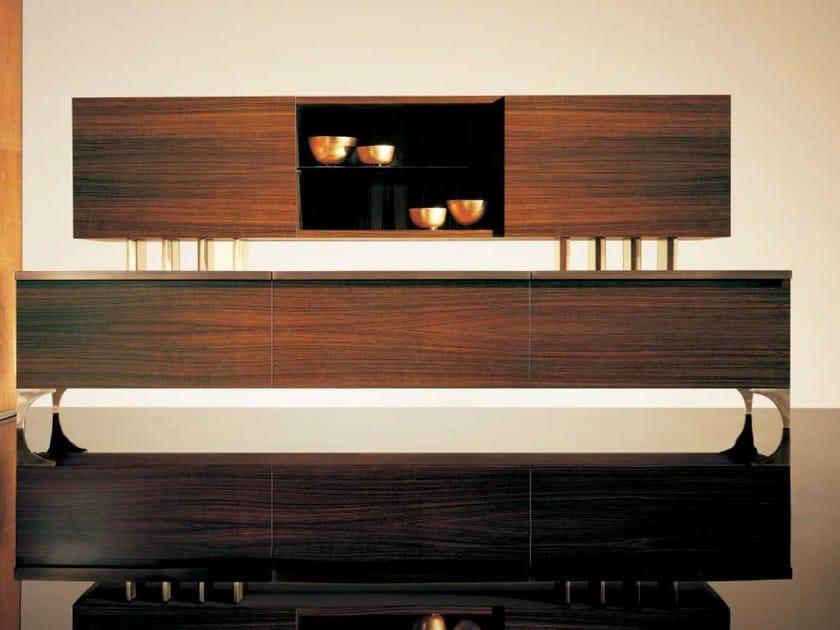 Wooden storage wall SC1001 by OAK