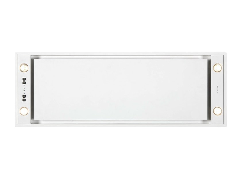 Ceiling-mounted built-in stainless steel cooker hood 821 MINI PURE'LINE by NOVY