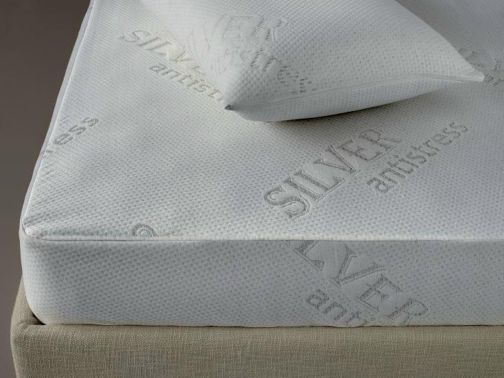 Fabric mattress cover DEMASILVER   Mattress cover by Demaflex