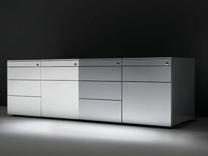 Cassettiera Ufficio In Metallo : Cassettiera ufficio in metallo professional dieffebi