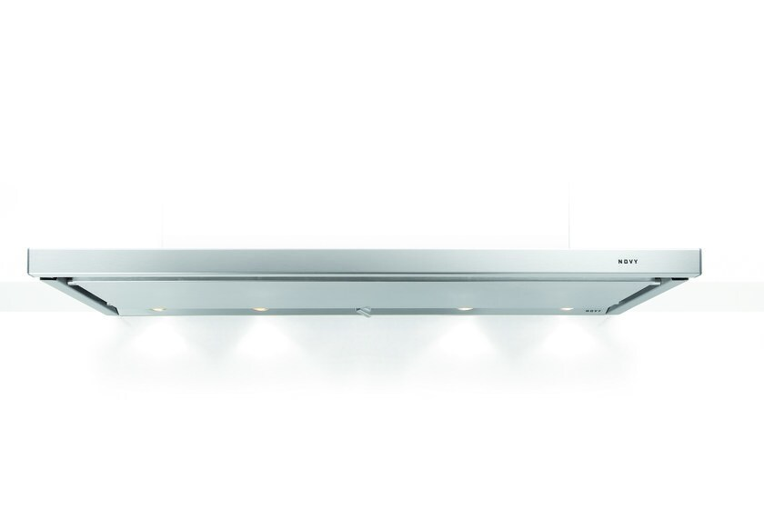Built-in stainless steel cooker hood with integrated lighting 692 TELESCOPIC by NOVY