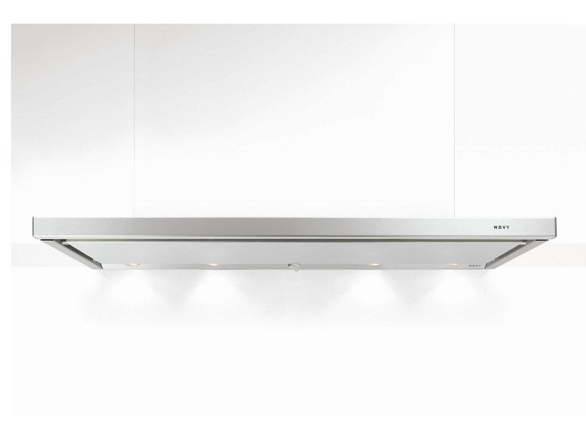 Slide-out built-in cooker hood with integrated lighting 691 TELESCOPIC by NOVY