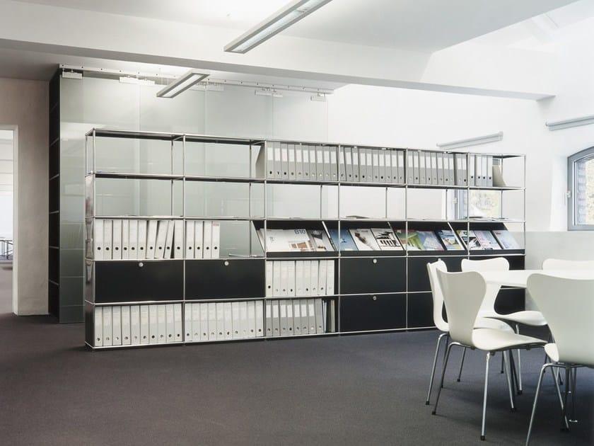 usm haller modular office shelving b roschrank by usm. Black Bedroom Furniture Sets. Home Design Ideas