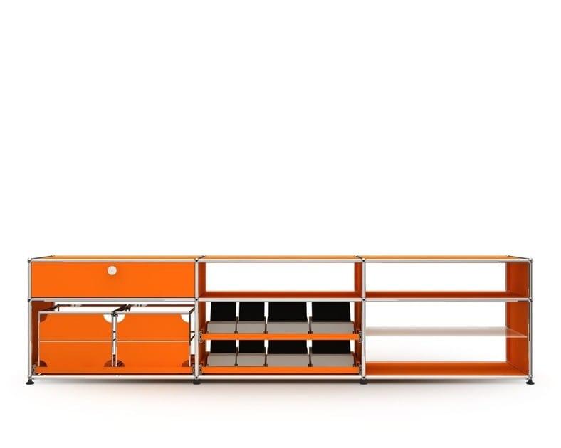 Modular metal sideboard USM HALLER LOWBOARD | Modular sideboard by USM