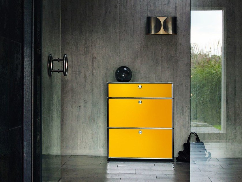 Sectional metal chest of drawers USM HALLER LIVING ROOM STORAGE | Sectional chest of drawers by USM