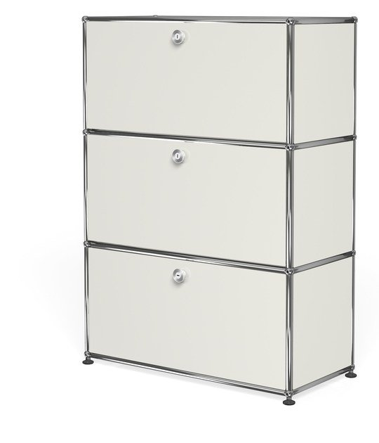 Metal chest of drawers USM HALLER MODULAR STORAGE AS DRESSER | Chest of drawers by USM