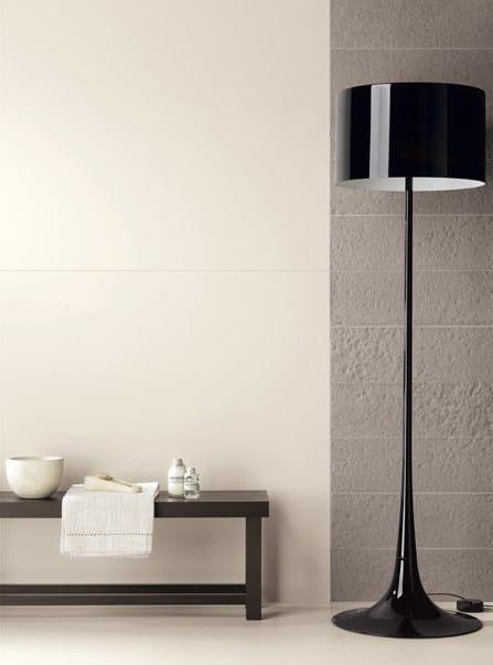 Pavimento/rivestimento ultrasottile in gres laminato BLACK-WHITE By COTTO D'ESTE