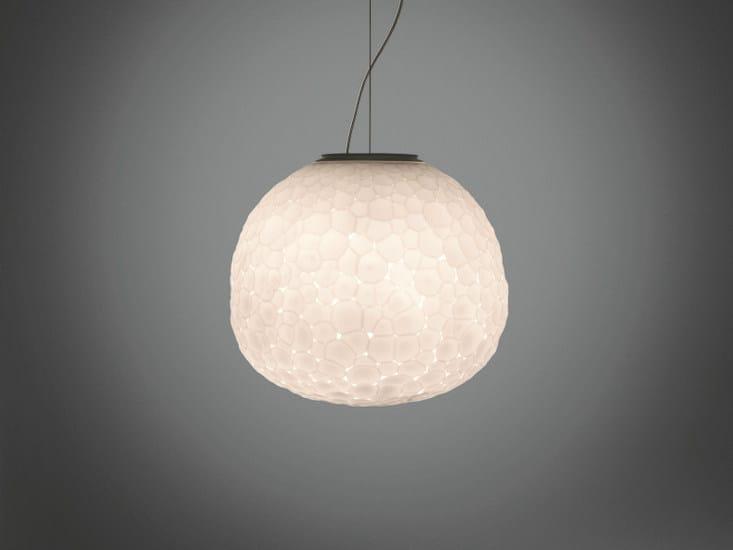 Blown glass pendant lamp METEORITE | Pendant lamp by Artemide