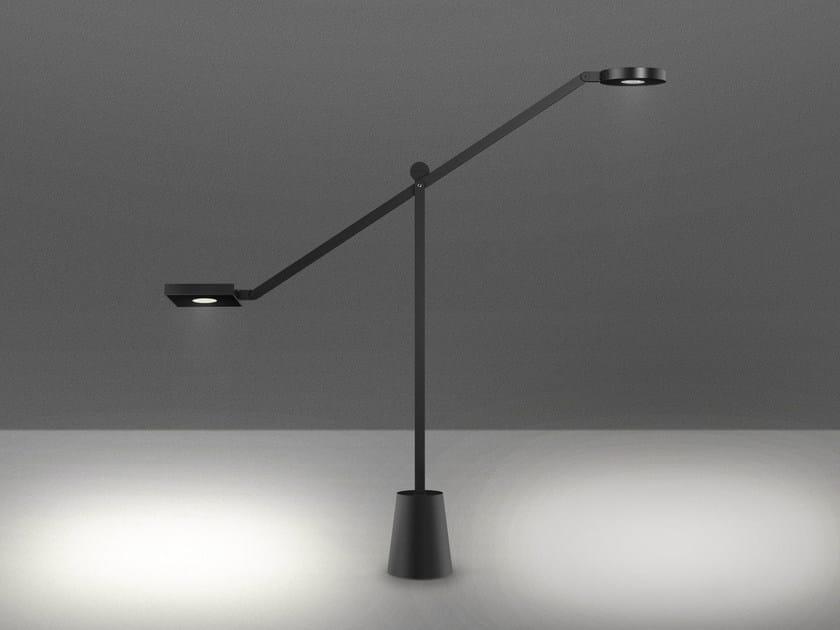 LED aluminium table lamp EQUILIBRIST by Artemide