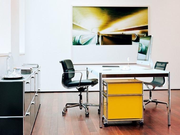 usm haller individual workstation table height. Black Bedroom Furniture Sets. Home Design Ideas