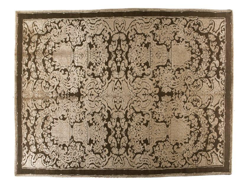 Handmade rectangular rug HERMITAGE by Golran