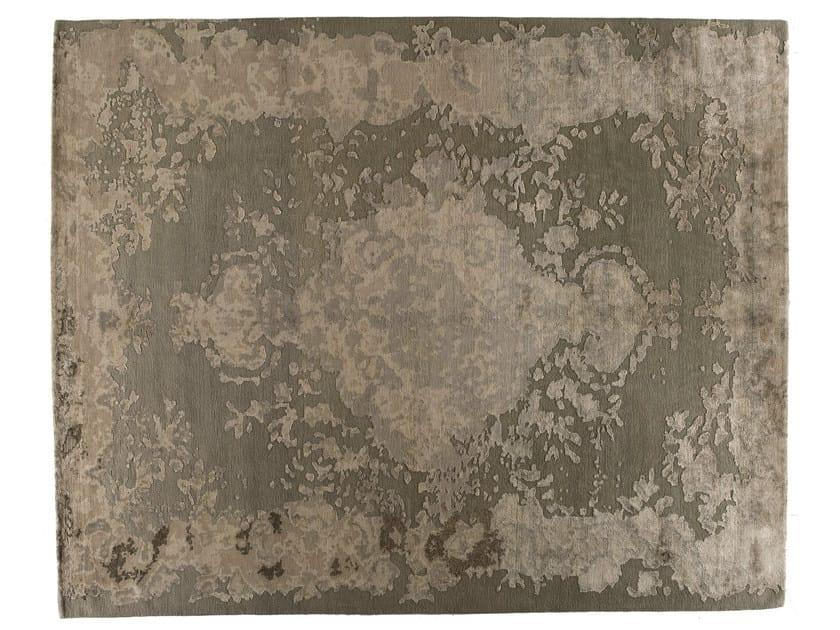Handmade rectangular rug MARIE ANTOINETTE BRILLANT by Golran