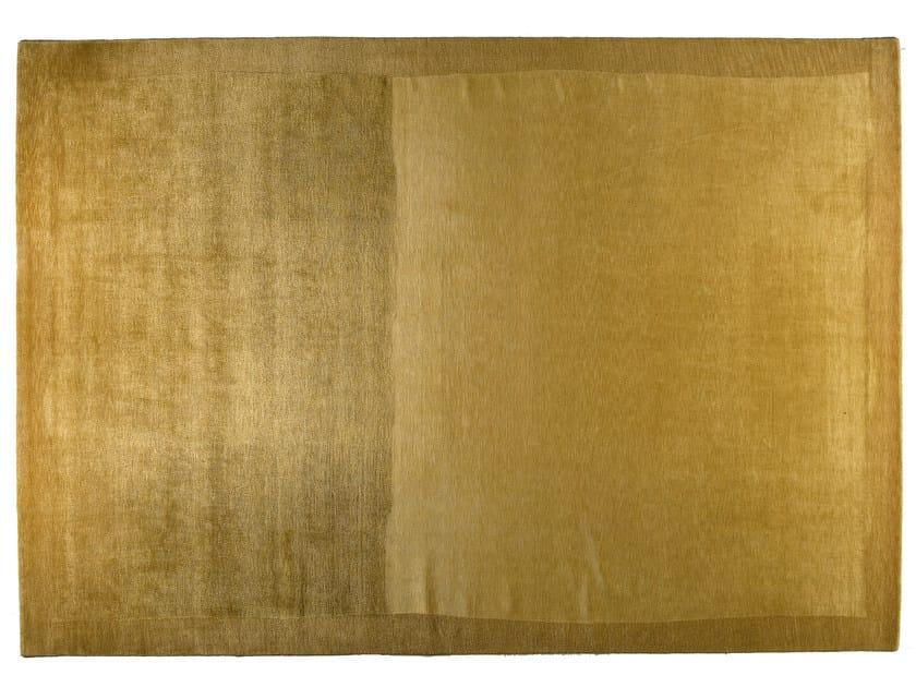 Rectangular rug GOLD by Golran