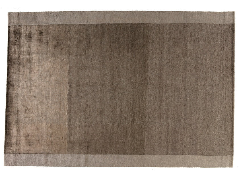 Rectangular rug SILVER BROWN by Golran
